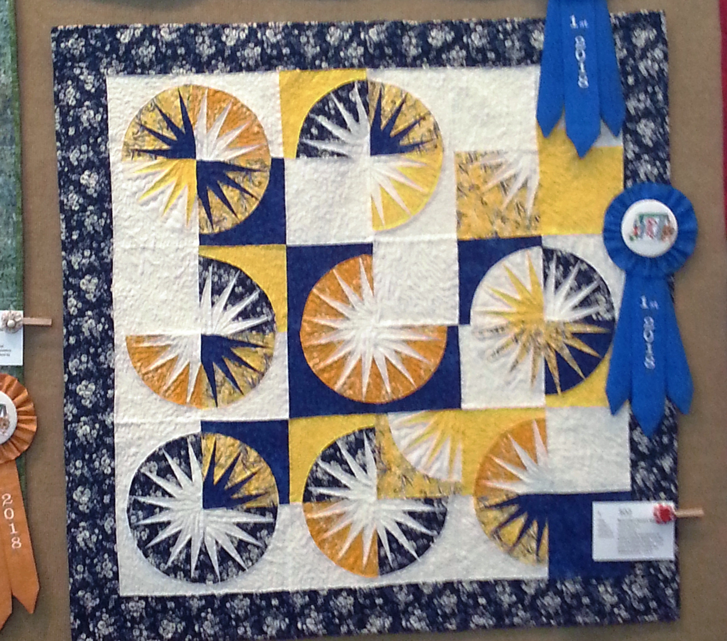 1st Place - Small Pieced