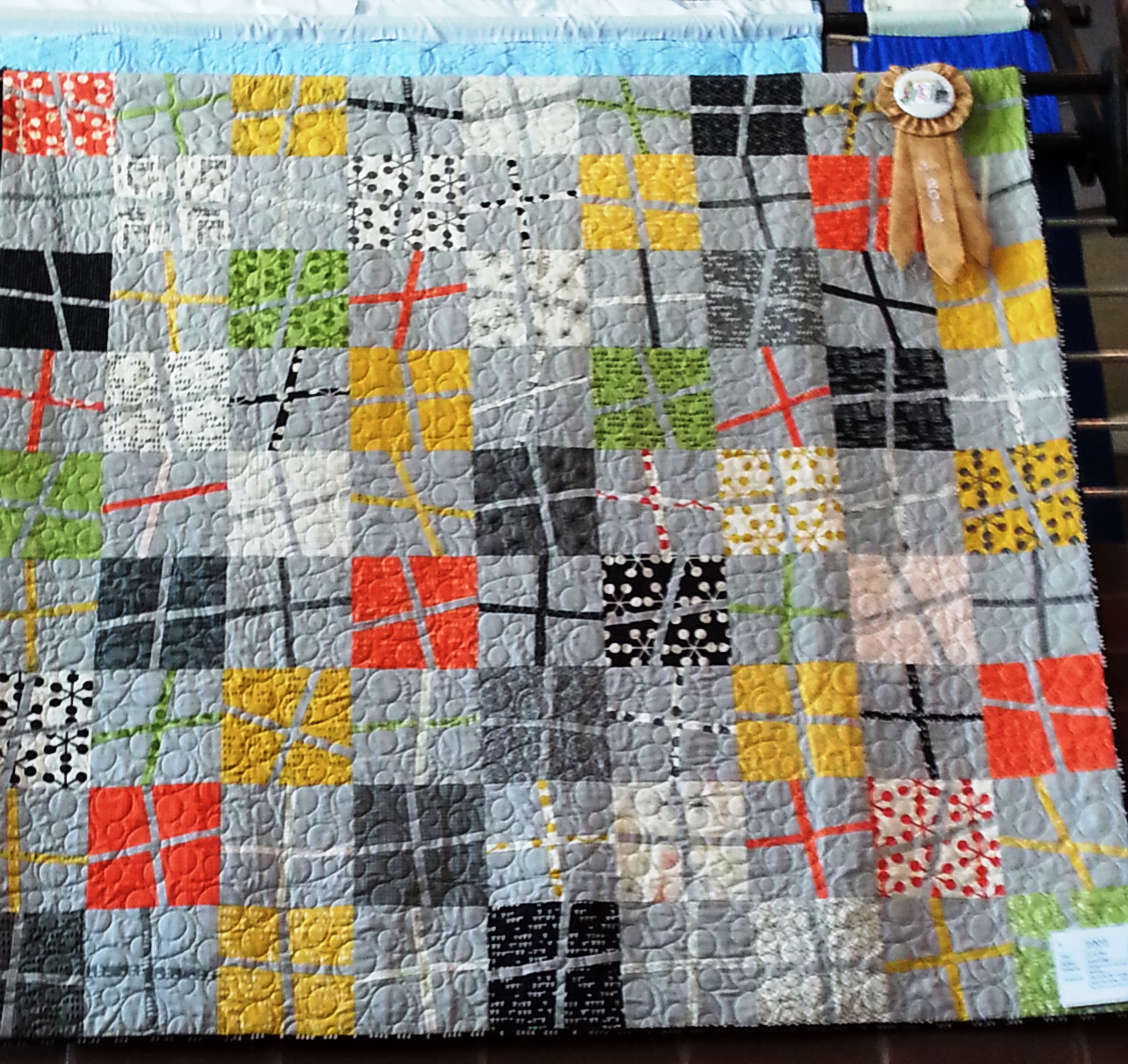 3rd Place - Professionally Quilted