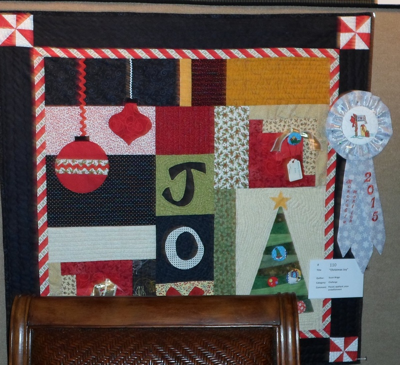 Challenge Quilt - Honorable Mention